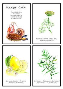 Bouquet Garni - Seafood / Meeresfrüchte by lidamedesign