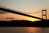 Fatih Sultan Mehmet Bridge At The Sunrise von Engin Sezer