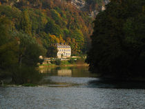 House on the river by photogatar