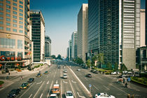 Beijing Street von Stas Kulesh