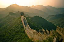Great Wall Sunrise  von Stas Kulesh