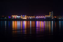 Heihe City Night View by Stas Kulesh