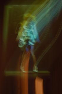 Lichtspuren/light lines von Ulrike Linn