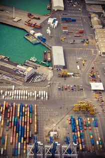 Auckland Port by Stas Kulesh