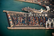 Port of Auckland by Stas Kulesh