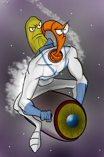 Earthworm Jim by Robert Gonzalez