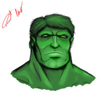 The Incredible Hulk by Robert Gonzalez