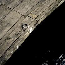 Empty jetty by Lars Hallstrom