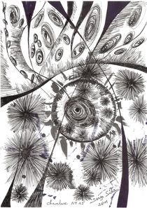 big bang : chevelure  no 15 by Serge Sida