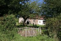 Church gate by Ed Lukas