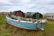 Lindisfarne boats von Ed Lukas