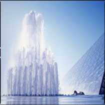 Paris, Louvre von Eugene Zhulkov