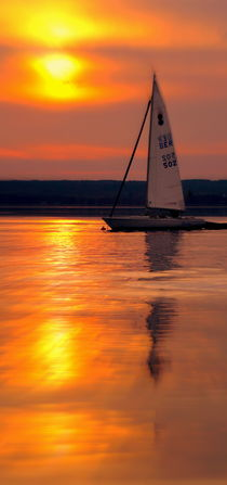 Abend am Ammersee by Peter Mahler