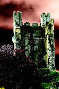 The castle at Helmsley von Robert Gipson