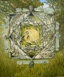 Mandala of the cave by Tim Seaward