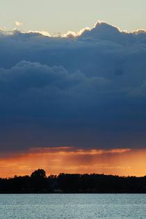 Distant rain by Lars Hallstrom