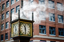 STEAM CLOCK gastown vancouver bc canada von Andy Smy