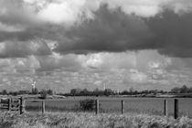 Ostfriesland in Schwarzweiß - Ostfriesland in black and white von ropo13