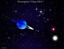Wasserplanet Gliese 436 b. von Bernd Vagt