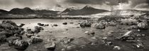 Black Mount from Rannoch Moor - BW by Maciej Markiewicz