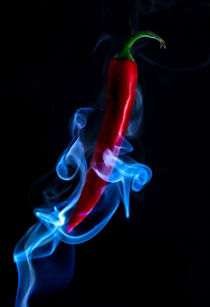 Red Hot Smokin Chilli Pepper von ian hufton