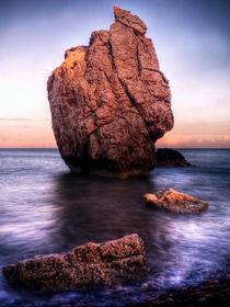 Sunset On Aphrodite's Beach von Amanda Finan