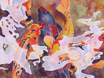 Koi Dance IV von Monica Linville