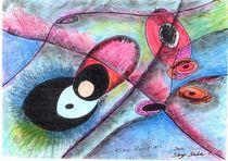 big bang :trou blanc no 3 by Serge Sida