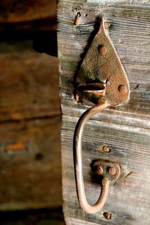 Antique Handle in Color by Bianca Baker