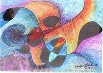 big bang : constellation du papillon no4 by Serge Sida