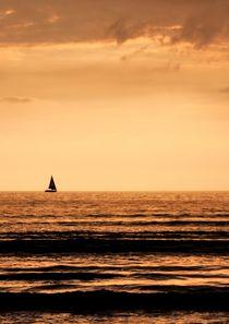 Lone yacht 2 von John Biggadike