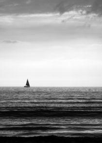 Lone Yacht von John Biggadike