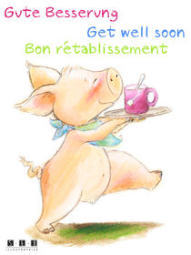 Gute Besserung Bon rétablissement Get well soon by sarah-emmanuelle-burg