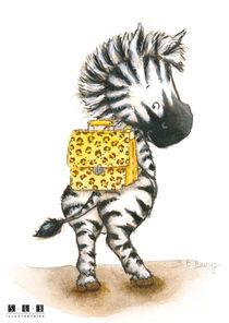 Petit zèbre cartable by sarah-emmanuelle-burg