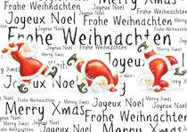 Joyeux Noël Frohe Weihnachten Merry Xmas by sarah-emmanuelle-burg