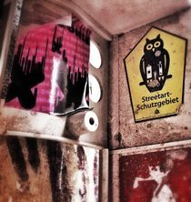 streetart-schutzgebiet by Rosemarie Rosenroth