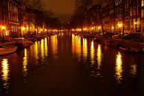 A Canal Reflection in Amsterdam by Kelsey Horne