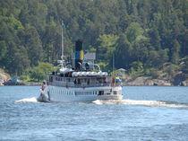 Schifffahrt durch die Schären Schwedens von Ka Wegner