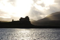 Castle on Scotland's Inner Hebridean Islands by Kelsey Horne