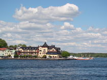 Schären-Inselstadt vor Stockholm von Ka Wegner