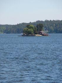 Schäre vor Stockholm, Einhausinsel von Ka Wegner