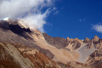 Clouds and Mountains, Yak Kharka to Thorung Phedi von serenityphotography