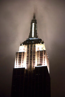 Empire State in the Fog von Kelsey Horne