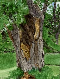 Und dennoch grünt der hohle Baum by Marie Luise Strohmenger