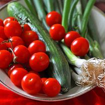 Tomate - Gurke - Lauch by captainsilva