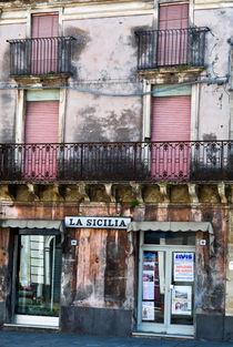 FASSADE - Linguaglossa - LA SICILIA  von captainsilva