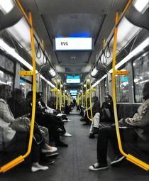 subway by Rosemarie Rosenroth