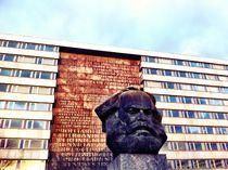 karl-marx-monument von Rosemarie Rosenroth