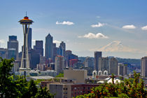 Seattle skyline by northwest-scenescapes