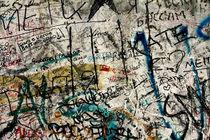 Berlin Wall Graffiti by Kelsey Horne